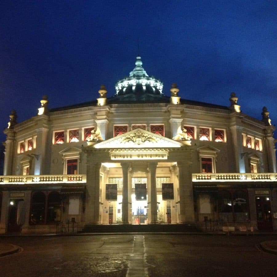 Jules Vernes Circus, Amiens – Architectural illumination of the building