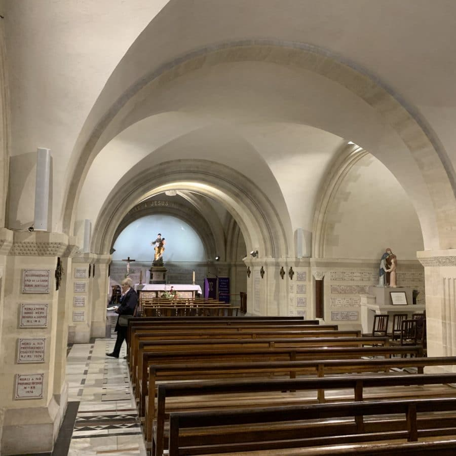Notre Dame de la Garde, Marseille – Architectural lighting of the crypt